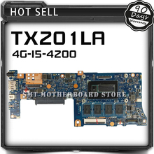 For ASUS TX201LA 4G-I5-4200 TX201 TX201L Laptop Motherboard System Board Main Board Mainboard Card Logic Board Tested Well