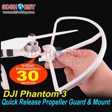 Propeller Guard Protector Bumper Shielding Ring Quick Release Protector Propeller Mount Adapter for DJI Phantom 3