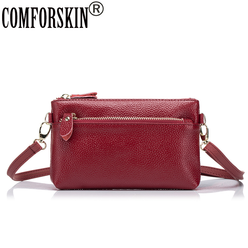 COMFORSKIN Brand New Arrivals Women 39 s Bags 2018 Hot Fashion Bolsa European And American Women Messenger Bag Best Price On Sales in Top Handle Bags from Luggage amp Bags