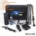 AloneFire X900 Alta potência CREE XM-L2 LED Zoomable Lanterna Lanterna LED Com 26650 Bateria de carga USB