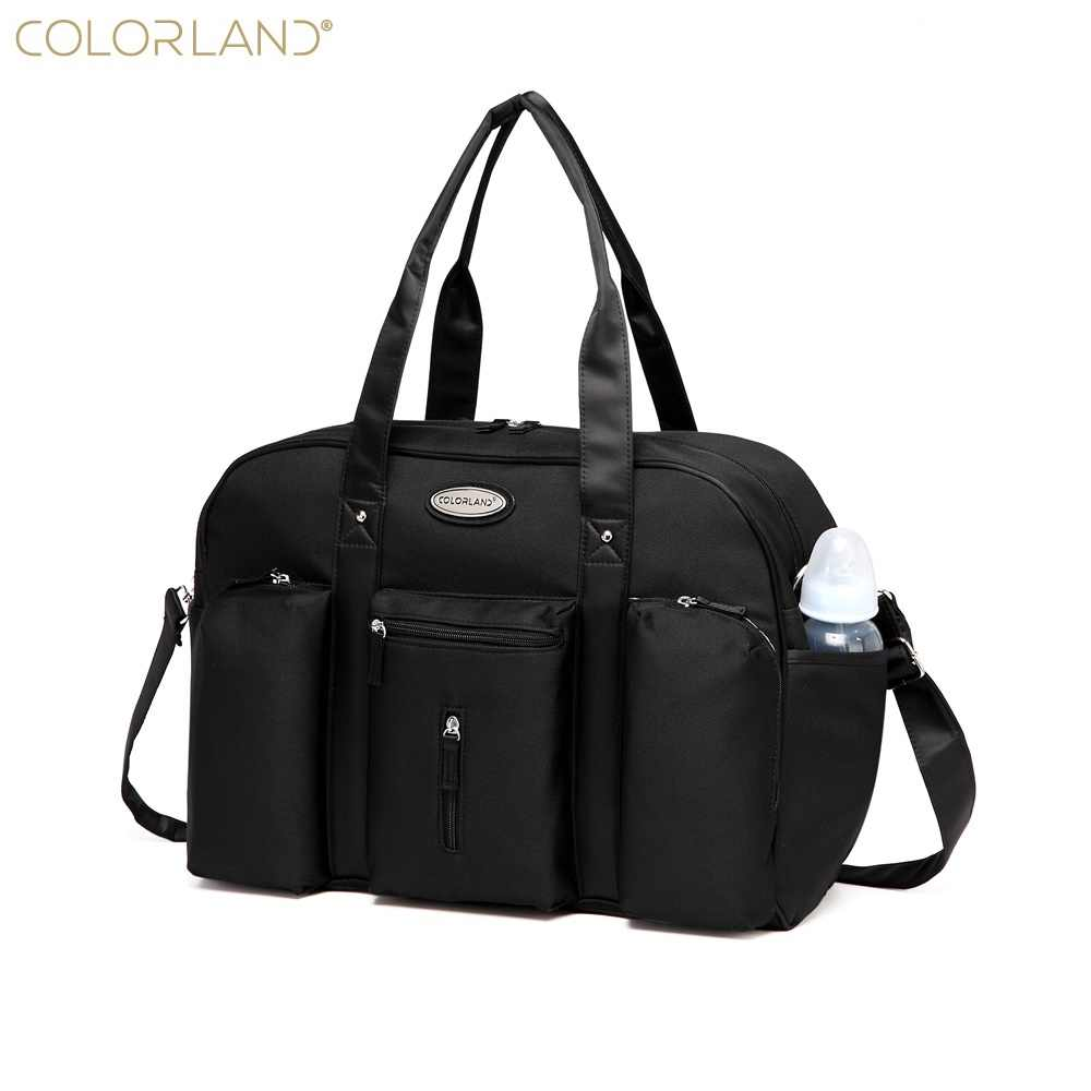 6192cb13c005 Colorland Baby Diaper Bag Organizer Large Mom Messenger Nappy Bags Fashion  Mummy Maternity Bag Brand Mother