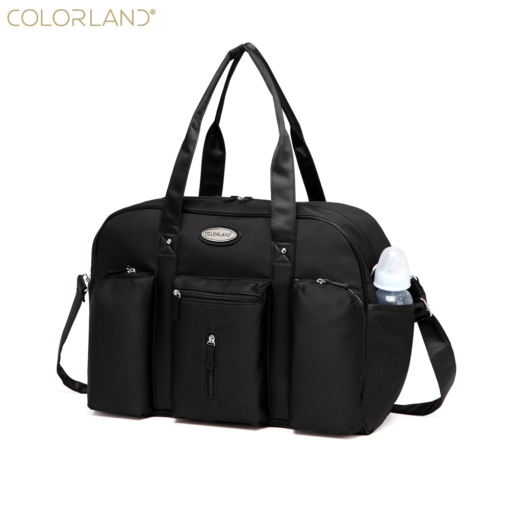 Colorland Baby Diaper Bag Organizer Large Mom Messenger Nappy Bags Fashion Mummy Maternity Bag Brand Mother Maternity Handbag  reflection