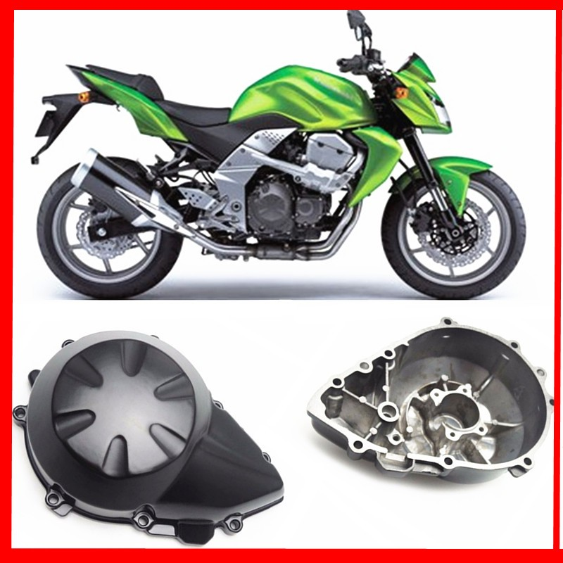 Z750 Motorcycle Engine Stator Cover Crank Case Generator Cover for Kawasaki Z750 2007 2008 2009 Aluminum Accessories