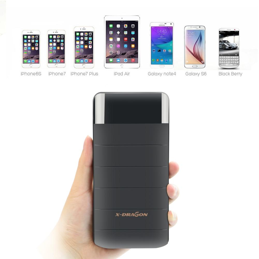Classic Black 20100mAh Power Bank Phone External Battery font b Powerbank b font for iPhone 4s