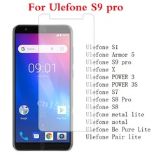 US $1.22 19% OFF|Tempered Glass for Ulefone S9 pro S1 Armor 5 X POWER 3 3s S7 S8 Pro metal lite Be Pure Lite Pair lite Screen Protector Film >-in Phone Screen Protectors from Cellphones & Telecommunications on Aliexpress.com | Alibaba Group