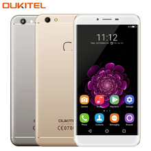 Original Oukitel U15S 4G Mobile Phone RAM 4GB ROM 32GB MT6750 Octa Core 5.5 inch Android 6.0 13.0MP Fingerprint Smartphone