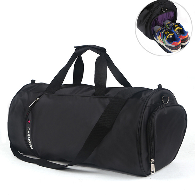 2017 New Men Shoulder Bag Gym Athletic Bags Waterproof Travel Duffel Tote Durable Sport Handbag