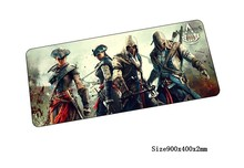 hot sales Assassin's Creed mouse pad 90x40cm pad to mouse notbook computer mousepad gaming padmouse gamer to keyboard mouse mats