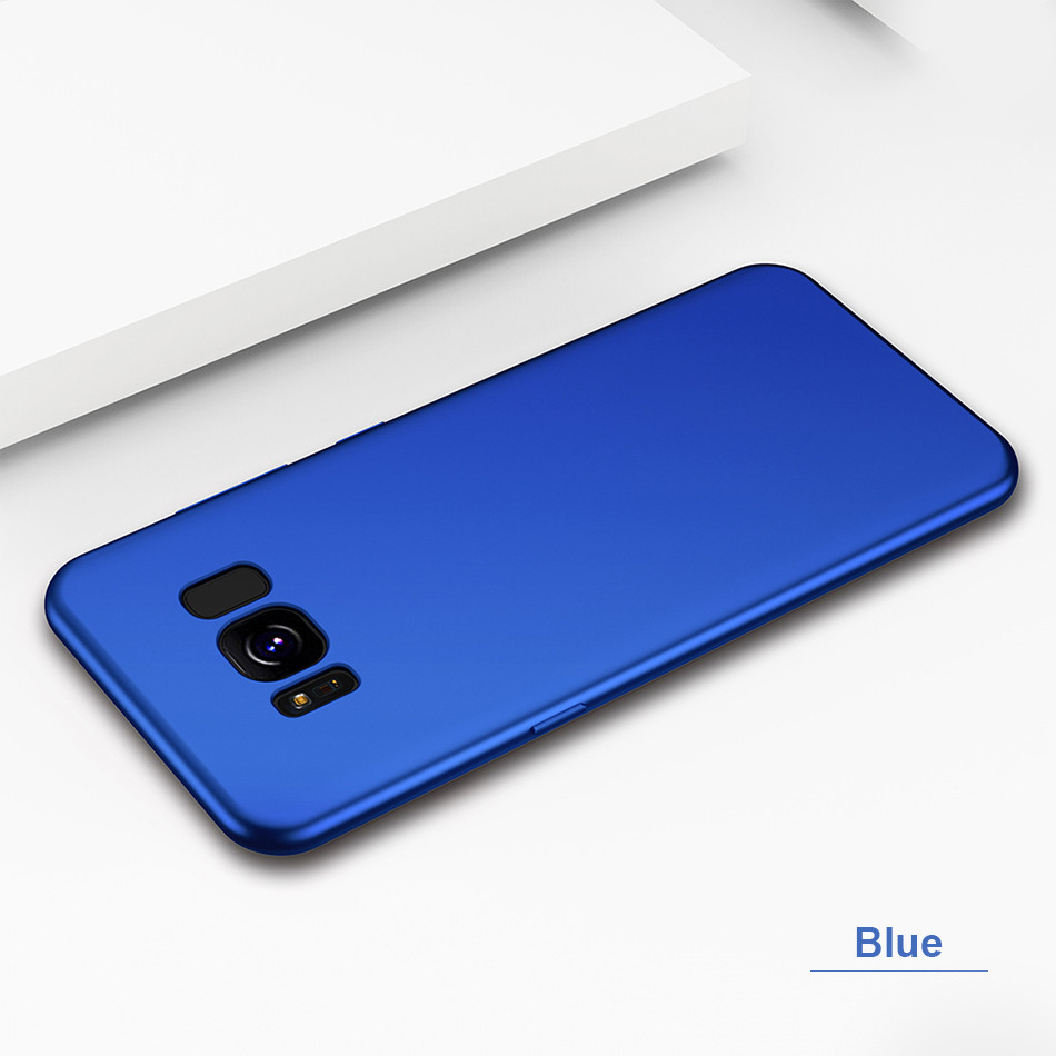 DOEES Matte Phone Case For Samsung Galaxy S8 S9 Plus Luxury Soft Silicone TPU Ultra Thin Cover For Samsung S7 Edge S8 S9 Plus (9)