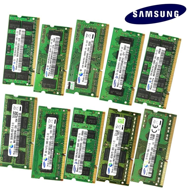 8GB 4GB 2GB 1GB 2G 4G PC2 PC3 PC3L  DDR2 DDR3 667Mhz 800Mhz 1333hz 1600Mhz 5300S 6400 8500 10600 ECC Laptop memory notebook RAM 2