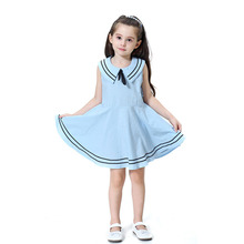 Summer Kids Dresses For Girls Sleeveless Party Princess Dress Children Clothing Casual Cotton Girls Dress 2 3 4 5 6 7 8 Years summer casual girls dresses cotton page 5 page 4