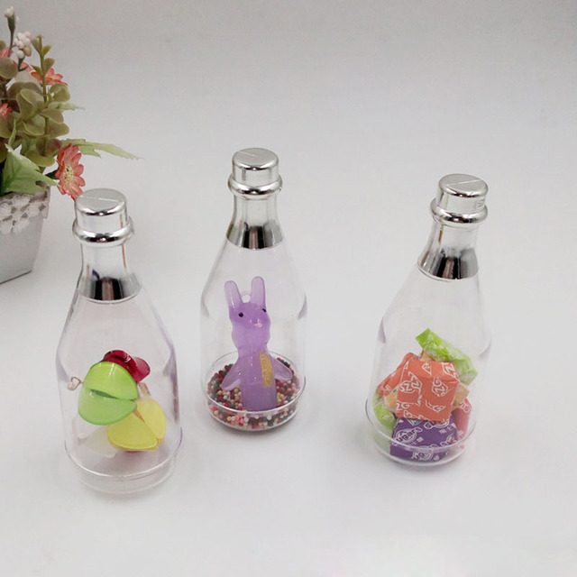 600pcs/lot Creative European Small Champagne Bottle Candy Box ...