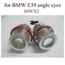 best selling 6000k LED Angle Eyes Marker Ring Light Bulb Canbus For BMW E39 E53 E60 E61 E63 E64 E65 E66 X5 2 pcs
