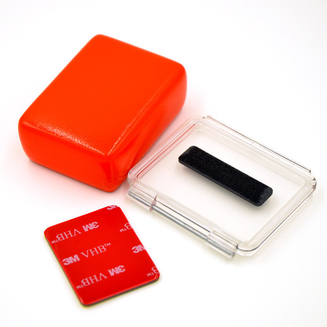 Gopro Hero 4 Backdoor Cubra com Floaty esponja e 3 M etiqueta para Gopro Hero 4 3 mais Acessórios