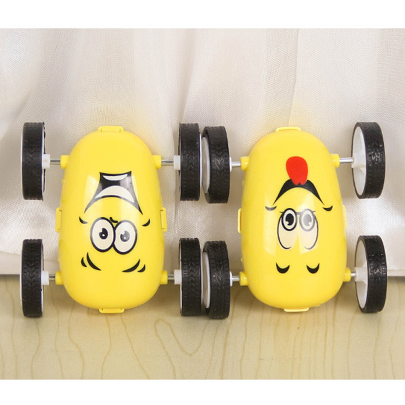 Cute Kids Toys Simple Car Styling Toys Yellow Cars Toys For Children