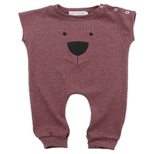 New Arrival Autumn Winter Infant Baby Clothing Kids Girl Boy Clothes Bear Brown Romper Jumpsuit Playsuit Outfits Overall