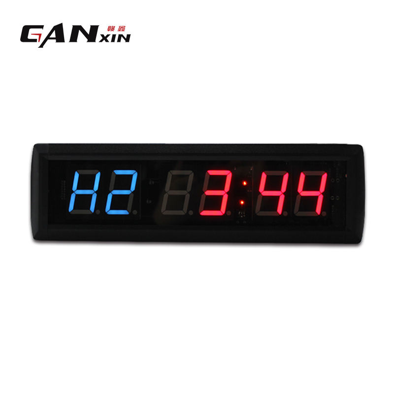 Fitness Center Rules Aluminum Sign Square Shape Free: [Ganxin] Figures Digital LED Interval Display Gym Wall