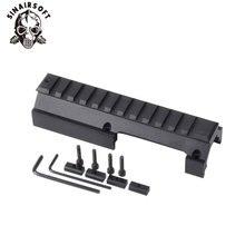 Низкопрофильное универсальное рельсовое крепление для винтовок Hk-91 H& k G3 GSG-5 MP5 SP89 Hk-91 93 94 и Cetme