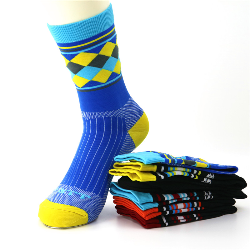 YF&TT Brand Sport Running Socks Outdoor Climbing Cycling Racing Socks Camping Hiking Tennis Rugby Golf Socks 40-45