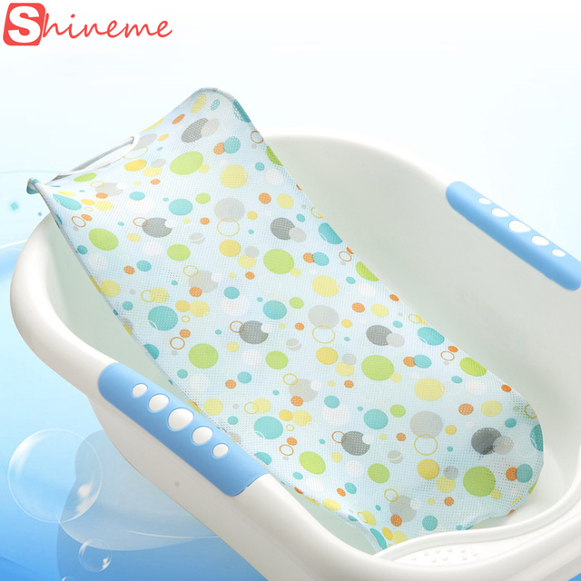 Quality summer newborn baby bath seat net bed cushion pillow pad ...