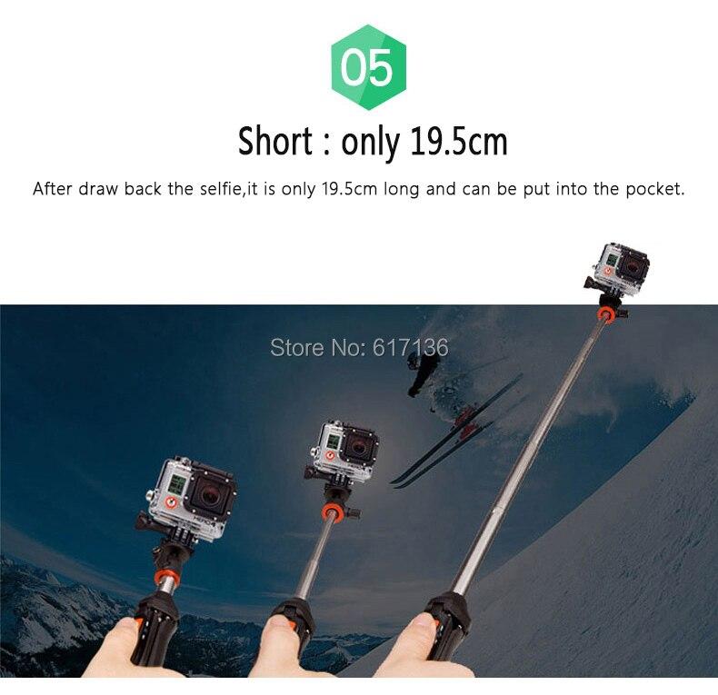 af1d7b69de5e8b Benro Selfie Stick MK10B/MK10R 4 in 1 Extendable Selfie Stick Small ...