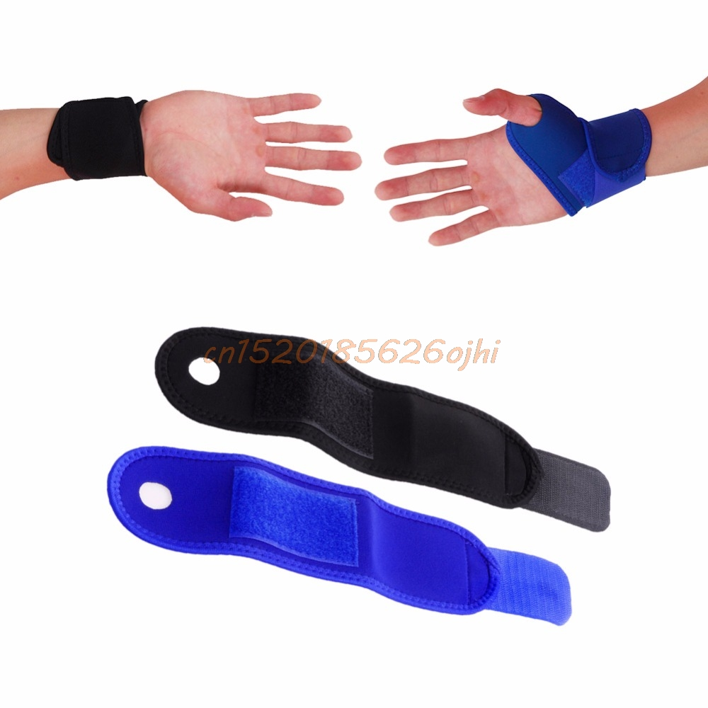 Fitness Wrist Support Gym Wrist Guard Band Strain Strap Brace Support Carpal Tunnel Magnetic Sprains