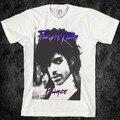 Vintage, 80 s, chuva roxo, príncipe camisa de t, retro, rock, guitarra, tour, banda Tops Camisetas