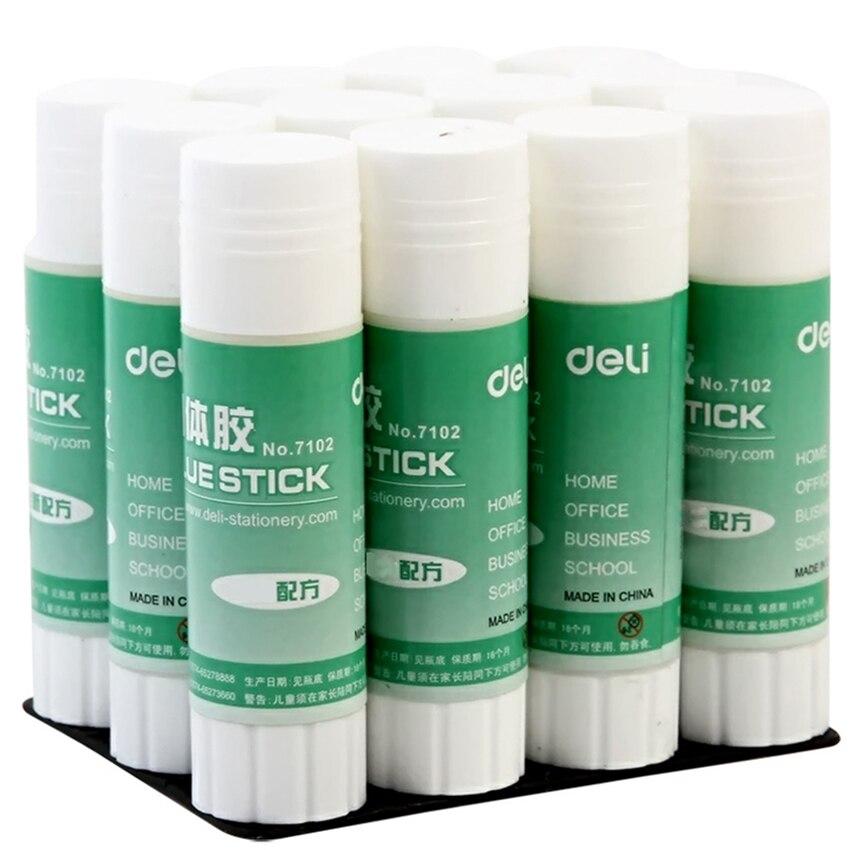 21g Solid Glue PVA Handmade Glue Stick Office School Supplies DIY Glue High Adhesive Sticky Glue For Paper Card Photo