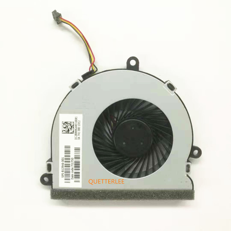 New for HP 15-AC 15-A Series CPU Cooling Fan 813946-001 DC28000GAF0FCC2