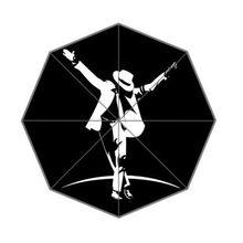 Специальное предложение Новое поступление унисекс Пользовательские Майкл Джексон складной зонт