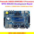 MYD-IMX283 Development Board Freescale i.MX283 Development Board MYD-C283-256N128D-I (454MHz,128MB DDR2 SDRAM,256MB Nand Flash)
