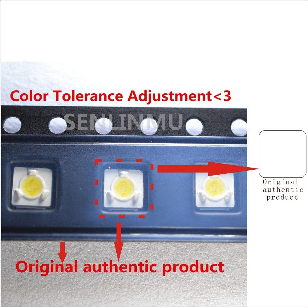 1000pcs lumens lg innotek samsung wooree led diode 3535 3537 High Power 1W 3V Cool white For LED LCD TV Backlight Lamp beads