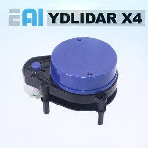 Image 1 - EAI YDLIDAR X4 LIDAR lazer Radar tarayıcı değişen sensör modülü 10 metre 5KHz değişken frekans EAI YDLIDAR X4 için ROS