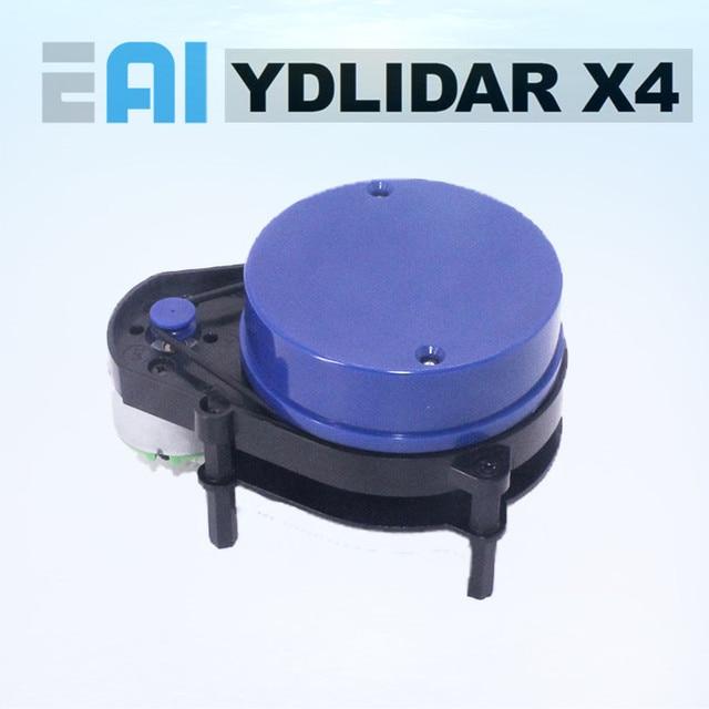 EAI YDLIDAR X4 LIDAR lazer Radar tarayıcı değişen sensör modülü 10 metre 5KHz değişken frekans EAI YDLIDAR X4 için ROS