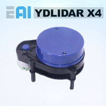 Eai ydlidar x4 lidar scanner de radar a laser variando módulo sensor 10 metros 5 khz variando freqüência eai YDLIDAR X4 para ros