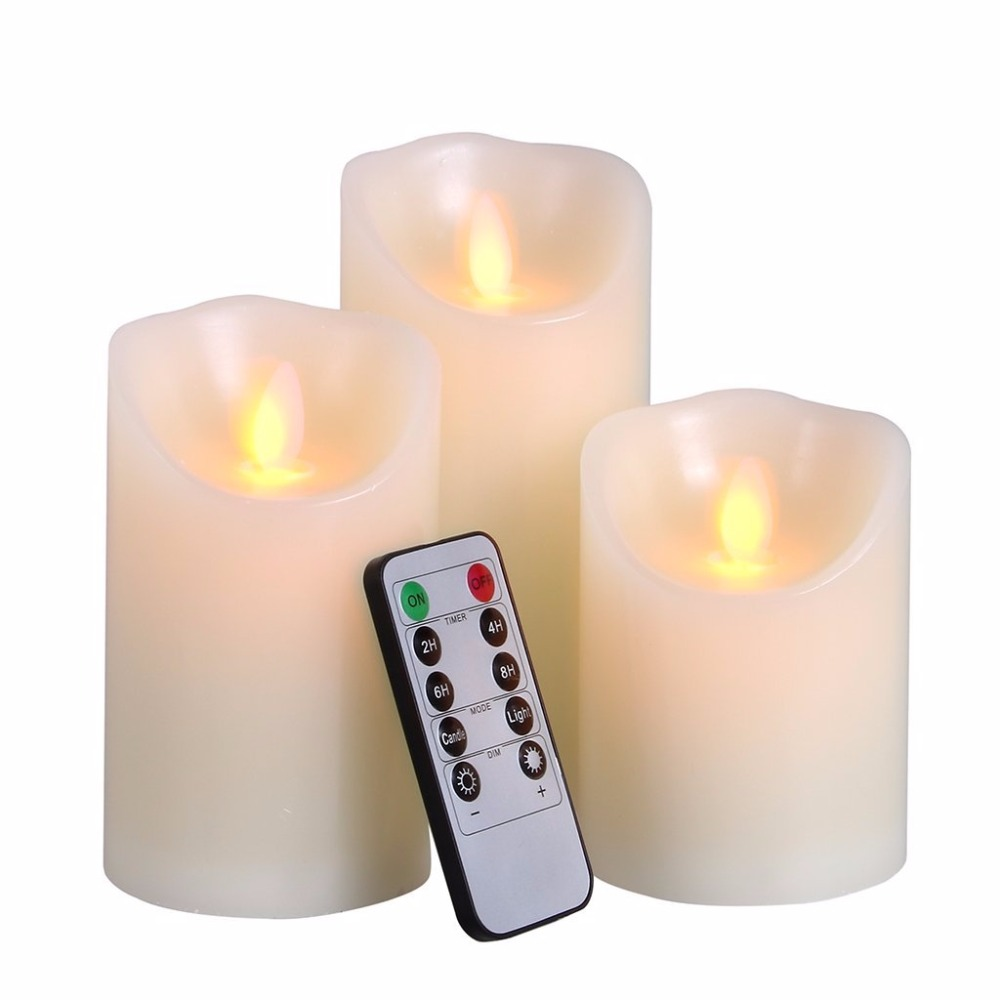 Flameless Candles Light Battery Operated Candles Lights ...
