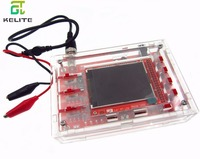 DSO138 DS0138 2 4 TFT Pocket Size Digital Oscilloscope Kit DIY Parts Handheld Acrylic DIY Case