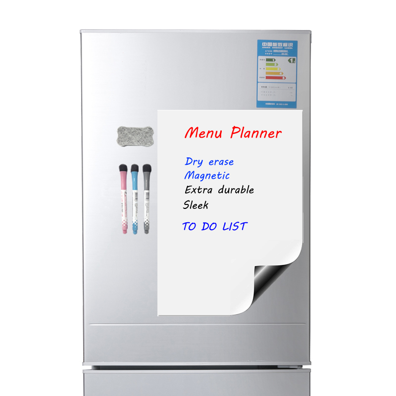 A3 Magnetic Calendar For Fridge - Dry Erase Whiteboard For Refrigerator - Perfect Planner Kitchen Office With 3 Pen