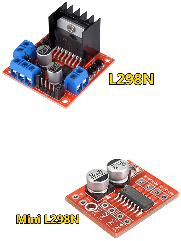 Module Motor-Driver Breadboard Stepper-Motor L298N Robot Peltier Arduino Smart-Car High-Power