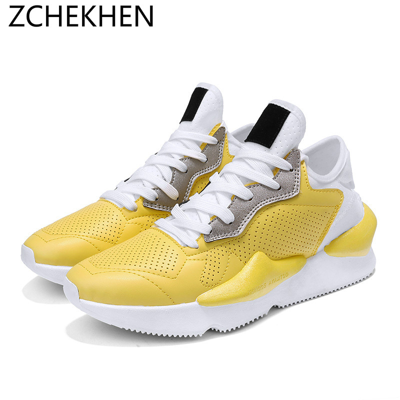 8676f49041f INS HOT Vintage dad Men shoes 2018 kanye fashion west 500 light breathable  men casual shoes men sneakers zapatos hombre y3-in Men s Casual Shoes from  Shoes ...