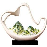 Новый китайский стиль горный украшения для дома креативное украшение Фен шуй новоселье подарок