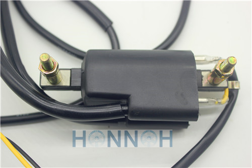 12v Ignition Coil Points Twin Lead 2 Wires For Honda GL 1000 CB 200 400 500 for Suzuki GS 500 550 750 FOR Kawasaki Z 400 500 650