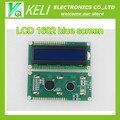 Frete grátis 10 PCS lcd 1602 tela azul Display LCD Character Módulo Azul Blacklight New 16X2