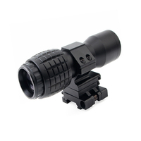 4x magnifierred dot sight hunting scope rifle scope teleconverter 20mm