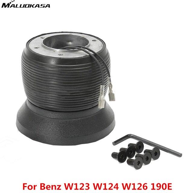 MALUOKASA Car Accessories Acing Steering Wheel Hub Boss Kit Adapter For BENZ W123 W124 W126 190E For SUBARU Auto Free Shipping