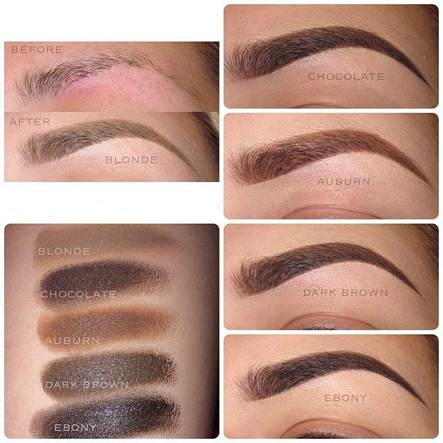 make up store brow pomade