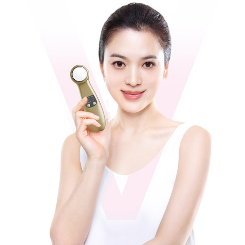 New Ion Face-lifting Cleansing Instrument Facial Cleaner Beauty Instrument Massage Cosmetology Girls' Beauty Skin Care Products