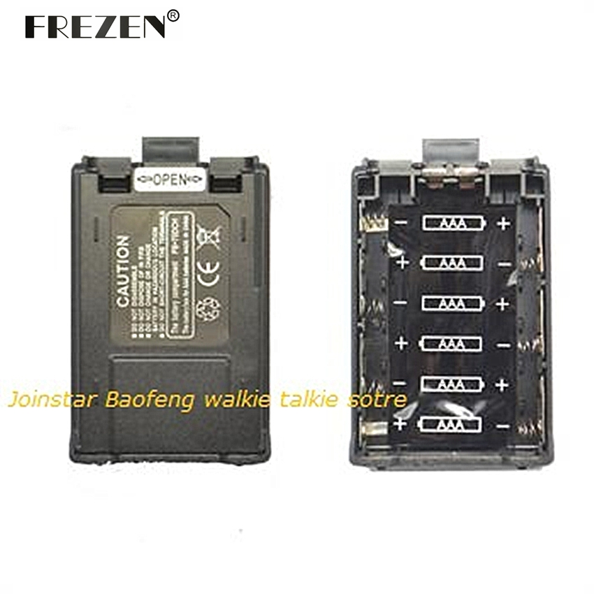 New Two Way Radio Battery Case For BAOFENG UV-5R/5RE PLUS/5RA/5RB/5RC/5RD/5RE/ TYT F8 / Ham Radio With Free Shipping