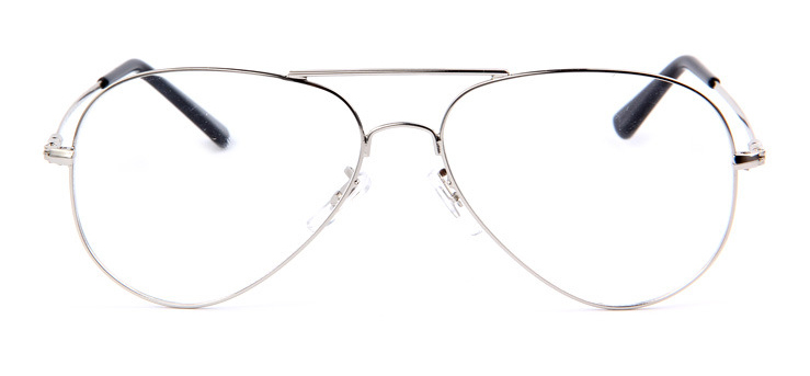 Sport Men Women Vintage Retro Aviation Outdoor Sunglasses Eyeglass Frame  Spectacles Eyewear RX prescription Glasses Plain Lens 9416506d7ca