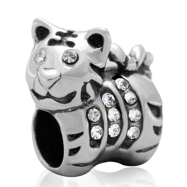 pandora charms tiger